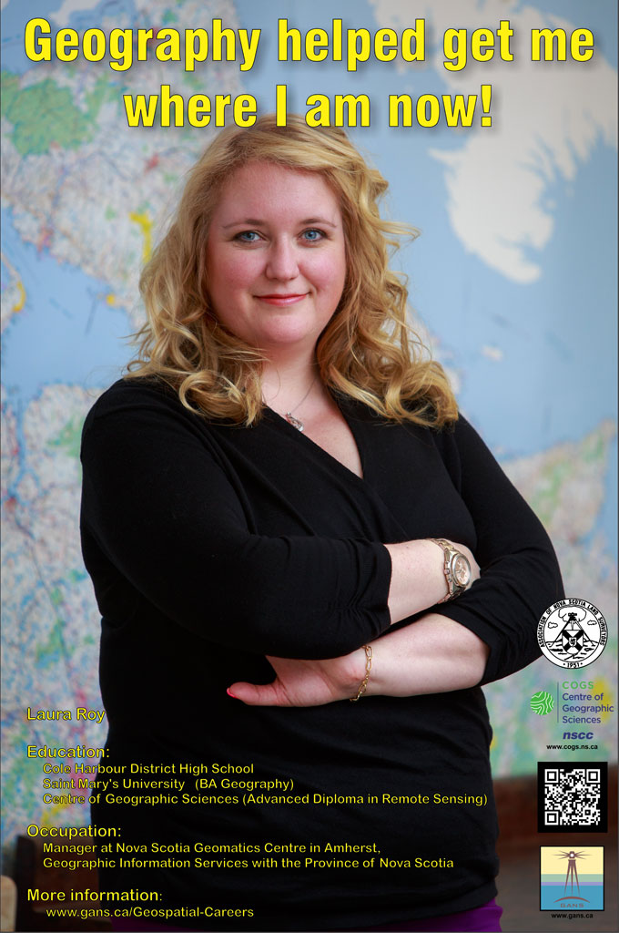 Laura_Roy - Manager at the Nova Scotia Geomatics Centre in Amherst