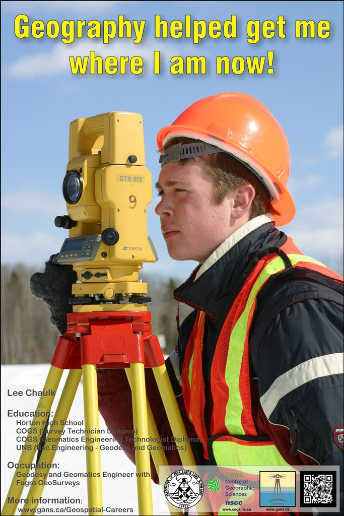 Lee Chaulk - Geodesy and Geomatics Engineer
