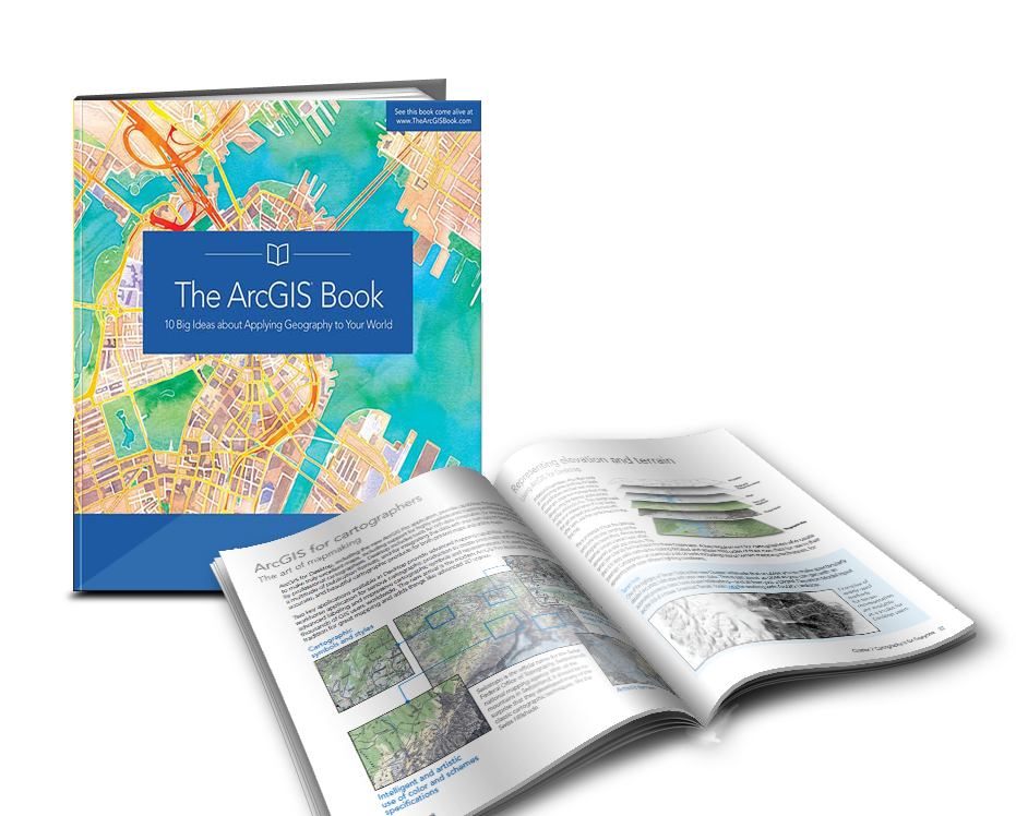 Online Digital Atlas - the ArcGIS book